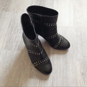 Addition Elle Wide Width Studded Ankle Boots (10W)